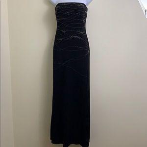 Cache Black evening Gown